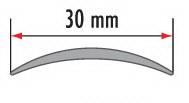 Порог алюминиевый для пола Fezard AL-С30