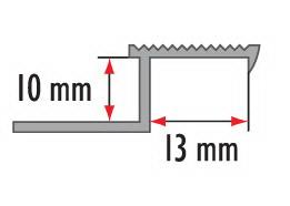 Профиль латунный овальный Cezar BR-Z10