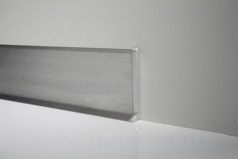 Плинтус из нержавейки Fezard NS-PL80