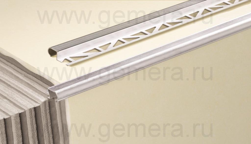 Профиль латунный овальный Cezar BR-ZW10