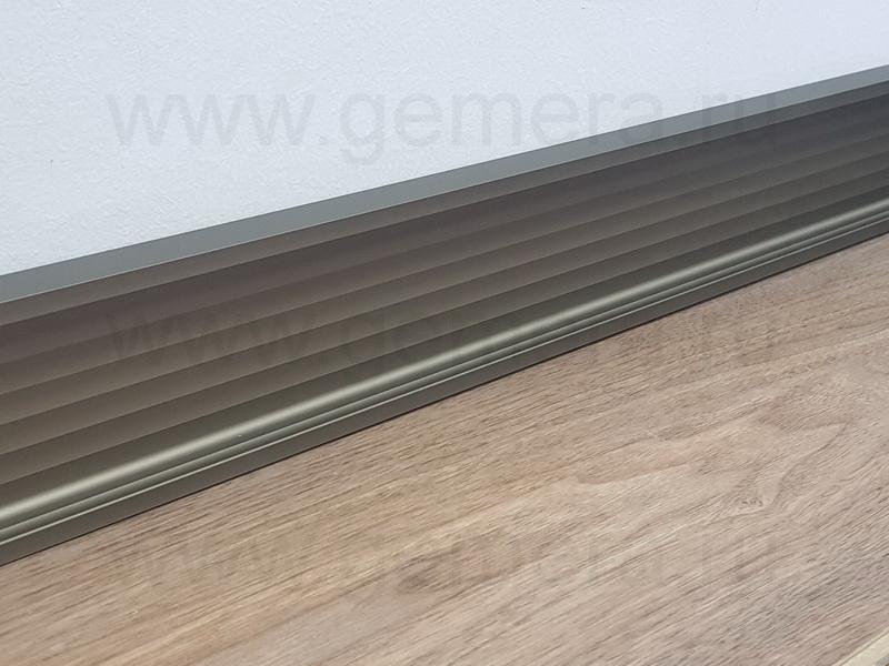 Алюминиевый плинтус Fezard ALP-G80-LI