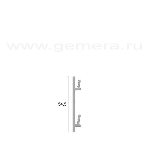 Алюминиевый плинтус Profilpas 97/7