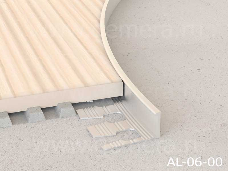 Угловая раскладка для кафельной плитки гибкая Butun AL-06-00