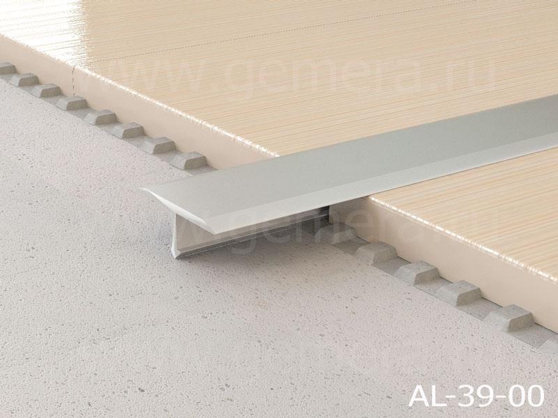 Т-профиль плоский алюминиевый Butun AL-39-00