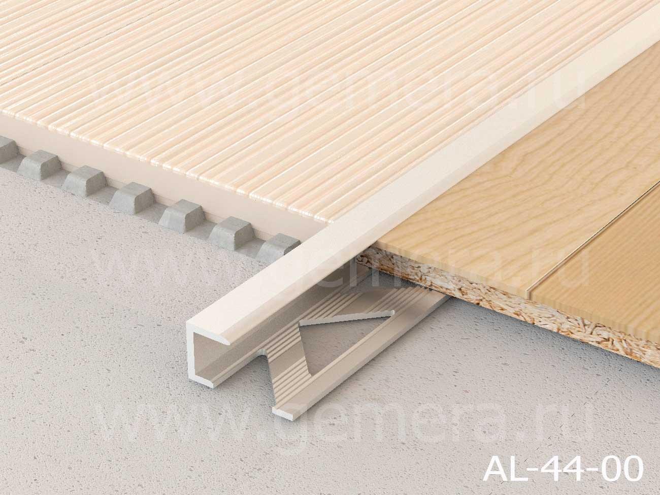 """Профиль для ламината оконечный """"Panel L"""" AL-44-00"""