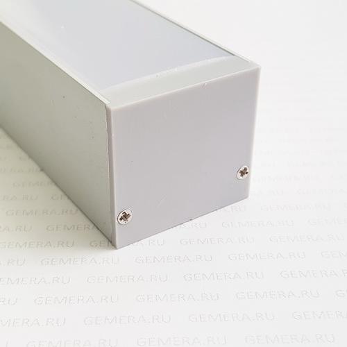 Светодиодный профиль ALED-35/32 скрытого монтажа