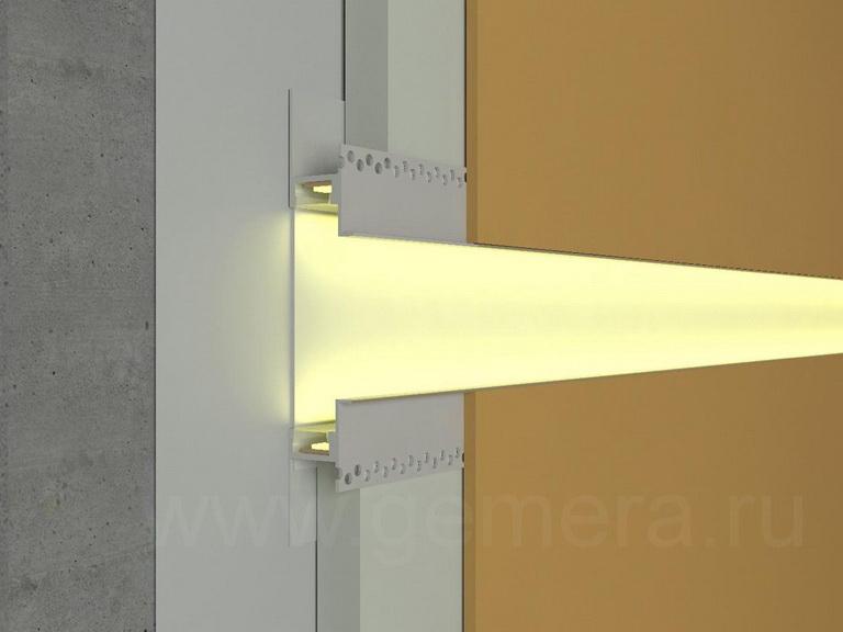 Алюминиевый плинтус Fezard ALP-G30/15