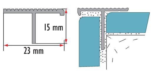 Профиль латунный овальный Cezar BR-TS10