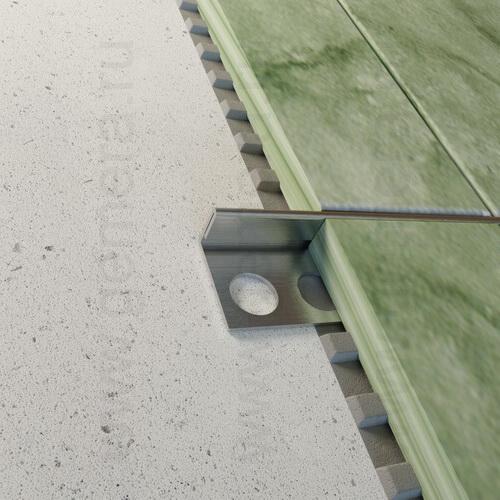 L-раскладка для кафельной плитки Fezard ST-GL10