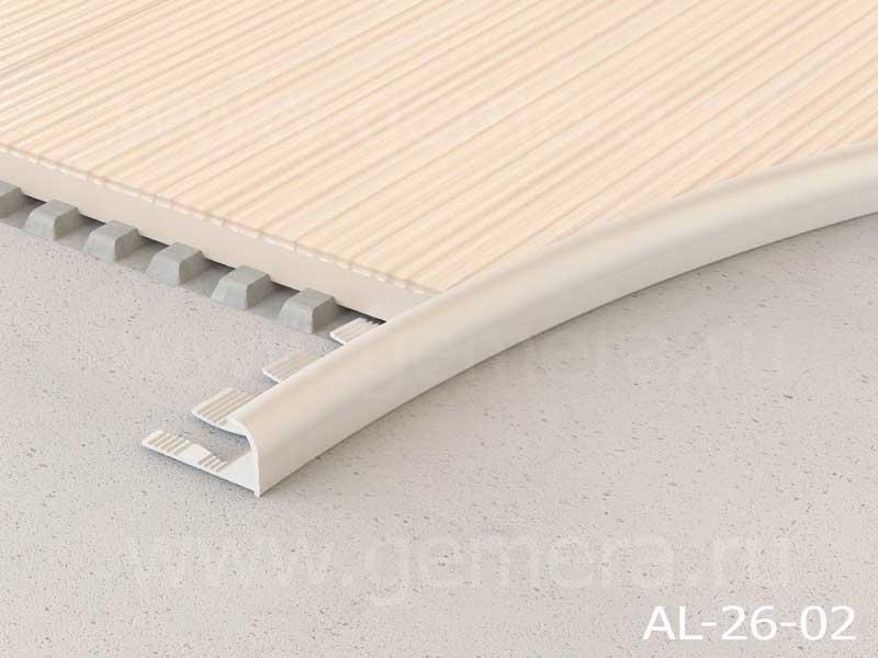 Угловая раскладка для кафельной плитки гибкая Butun AL-26-02
