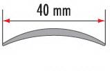 Порог алюминиевый для пола Fezard AL-С40