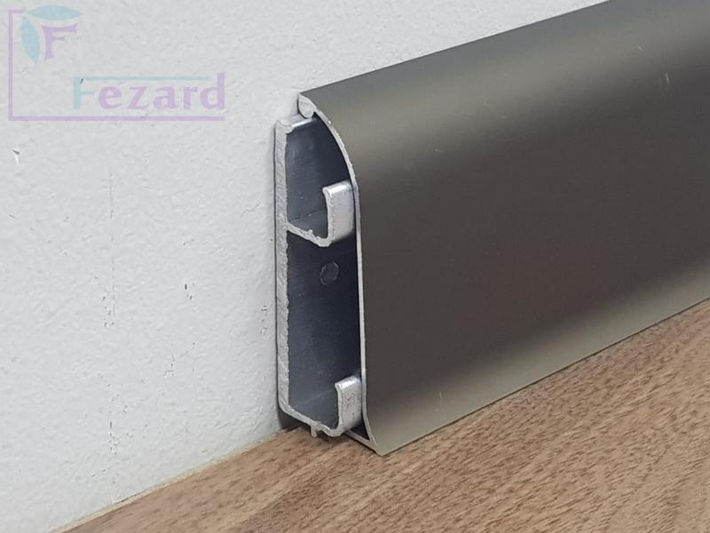 Алюминиевый плинтус Fezard ALP-C65
